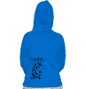 "Grrrz-Hoodie ""Freedom: it's all about"" blau"